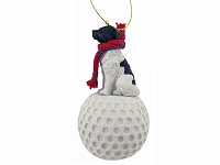 Landseer golf Ornament