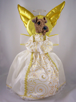 Airedale Doogie Collection Angel Tree Topper