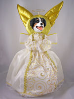 Bernese Mountain Dog Doogie Collection Angel Tree Topper