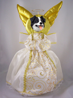 Border Collie Doogie Collection Angel Tree Topper
