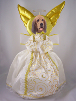 Bloodhound Doogie Collection Angel Tree Topper