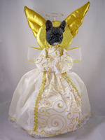 French Bulldog Doogie Collection Angel Tree Topper