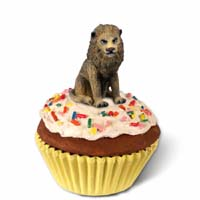 Lion Cupcake Trinket Box