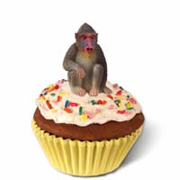 Mandrill Cupcake Trinket Box