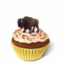 Buffalo Cupcake Trinket Box