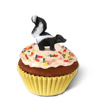 Skunk Cupcake Trinket Box