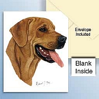 Rhodesian Ridgeback Greeting Cards Set of 6 *Enevelope NOT included!*