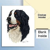 Bernese Mountain Dog Greeting Cards Set of 6 *Enevelope NOT included!*