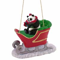 Ornaments Sleigh Ride Animals