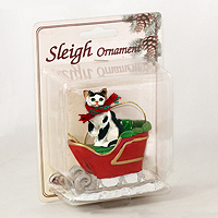 Ornament Sleigh Ride Cats