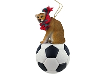 Cougar Soccer Ornament
