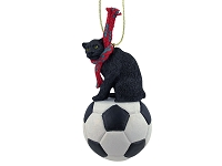 Panther Soccer Ornament
