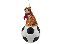 Tiger Soccer Ornament