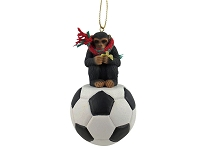 Chimpanzee Soccer Ornament