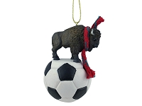 Buffalo Soccer Ornament