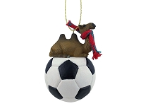 Camel Bactrian Soccer Ornament