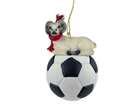 Dahl Sheep Soccer Ornament