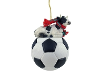 Holstein Bull Soccer Ornament