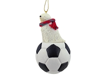 Komondor Soccer Ornament