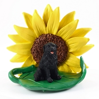 Newfoundland SUNFLOWER FIGURINE