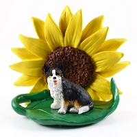 Welsh Corgi Cardigan SUNFLOWER FIGURINE