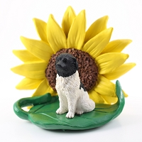 Landseer SUNFLOWER FIGURINE