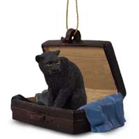 Panther Traveling Companion Ornament