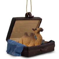 Camel Bactrian Traveling Companion Ornament