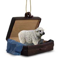 Sheep White Traveling Companion Ornament