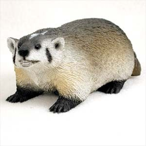 Badger Standard Figurine