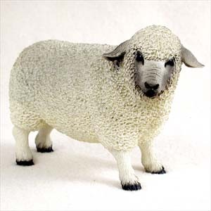 Sheep White Standard Figurine