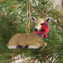 Deer Doe Original Ornament