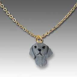 Weimaraner Tiny One Pendant