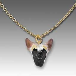 Chinese Crested Dog Tiny One Pendant