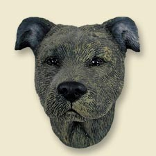 Staffordshire Bull Terrier Brindle Magnet