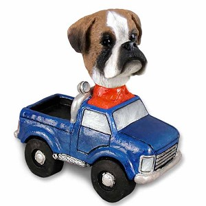 Boxer Uncropped Pickup Doogie Collectable Figurine