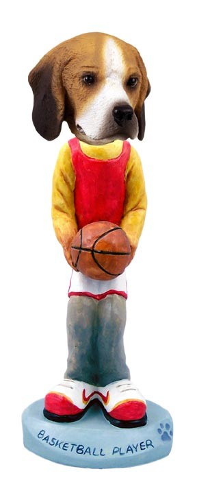 Beagle Basketball Doogie Collectable Figurine
