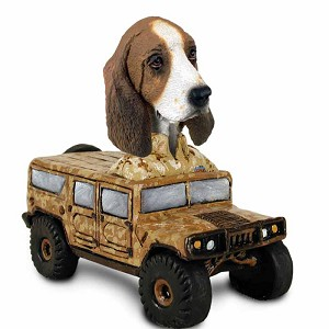 Basset Hound Hummer Doogie Collectable Figurine
