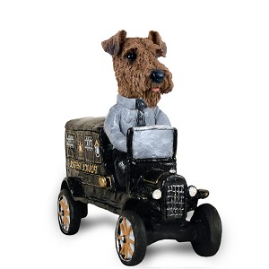 Airedale Paddy Wagon Doogie Collectable Figurine
