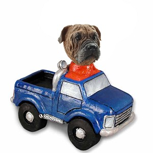 Bull Mastiff Pickup Doogie Collectable Figurine