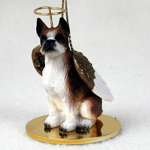 Boxer Brindle Pet Angel Ornament
