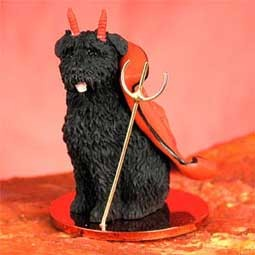 Bouvier des Flandres Devilish Pet Figurine