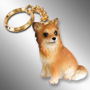 Chihuahua Longhaired Key Chain