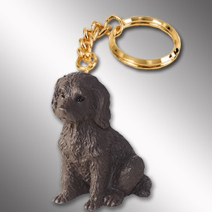 Labradoodle Chocolate Key Chain
