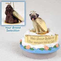 Cocker Spaniel Brown Candle Topper Tiny One Pet Angel Ornament