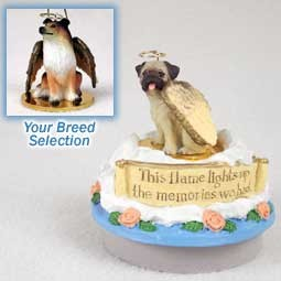 Collie Sable Candle Topper Tiny One Pet Angel Ornament