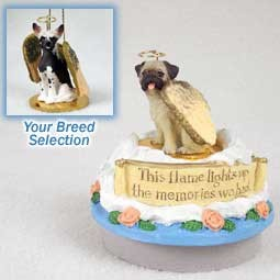 Chinese Crested Dog Candle Topper Tiny One Pet Angel Ornament