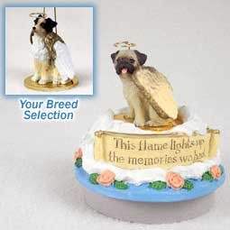 Australian Shepherd Brown Candle Topper Tiny One Pet Angel Ornament