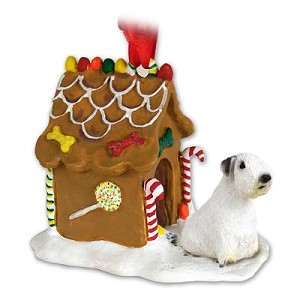 Sealyham Terrier Ginger Bread House Ornament