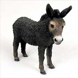 Brown Donkey Figurine